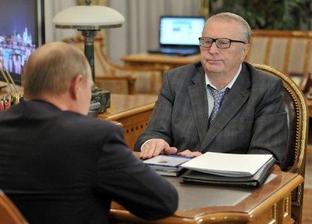 Путин наградил Жириновского орденом «За заслуги перед Отечеством»