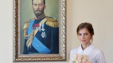 В Крыму замироточил бюст Николая II - Поклонская