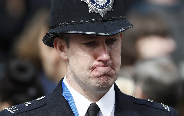 Полицейский в великобритании