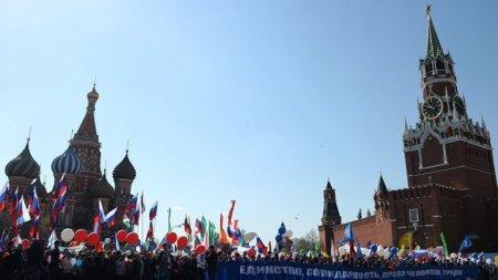 Опрос: россияне теряют интерес к празднованию Первомая