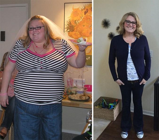 Истории самостоятельного похудения