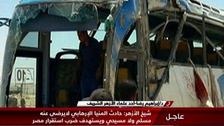 В Египте при нападении на автобус погибли более 20 человек