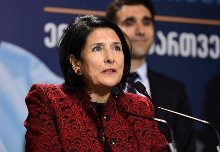 ЦИК: Зурабишвили лидирует на выборах президента Грузии с 59,51% голосов