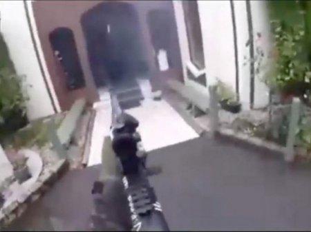 На хостинге GoPro появилось видео с места убийства мусульман в Новой Зеландии