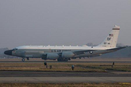 Американский самолёт провёл разведку у границ России