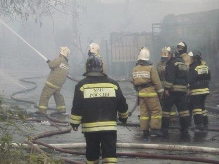 Взрыв и пожар уничтожили цех на заводе института «Ростеха» в Дзержинске
