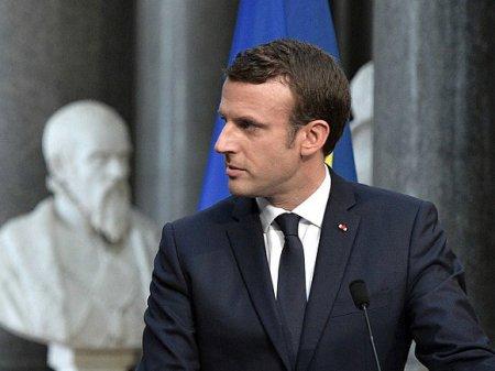 Макрон пообещал, что собор Парижской Богоматери будет восстановлен