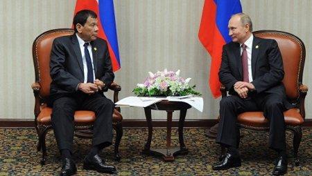 СМИ: Путин и Дутерте должны встретиться в ближайшие месяцы