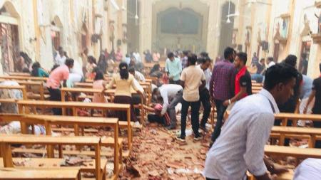 СМИ: На Шри-Ланке в двух церквях произошли взрывы во время празднования Пасхи
