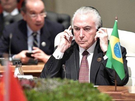 В Бразилии арестовали бывшего президента Темера