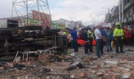 Количество пострадавших при взрыве в Колумбии возросло до 26 человек