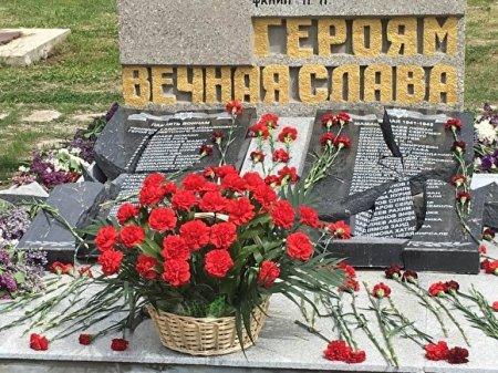 В Севастополе разбили памятник участникам ВОВ с именами крымских татар. Возбуждено дело
