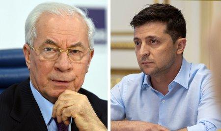 Азаров заподозрил Зеленского в тяге к абсолютной власти