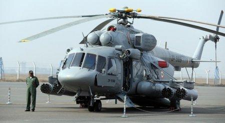 Индийский зенитный комплекс израильского производства сбил вертолет Ми-17В-5