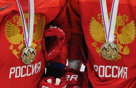 Медведев поздравил сборную России по хоккею с бронзой ЧМ