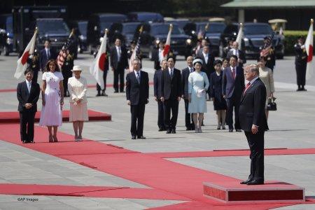 Трамп встретился с новым императором Японии Нарухито