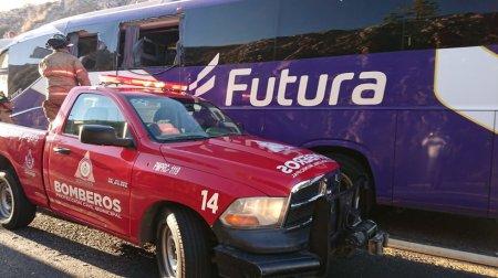 В Мексике при столкновении автобуса и грузовика погибло пять человек — видео
