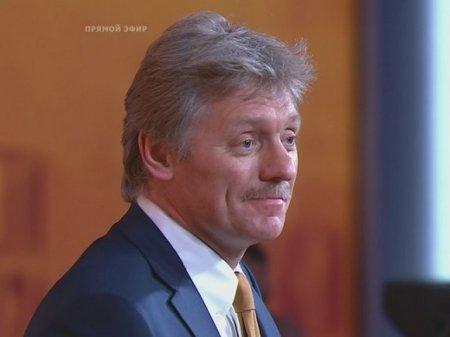 Песков заверил, что «нет установок» уладить дело Голунова до «прямой линии» Путина