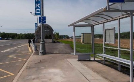 В Саратове украли автобусную остановку (фото)
