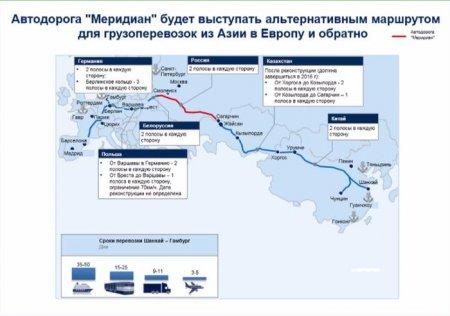 В Германии назвали строящуюся в РФ автомагистраль «Меридиан» кошмаром для США.