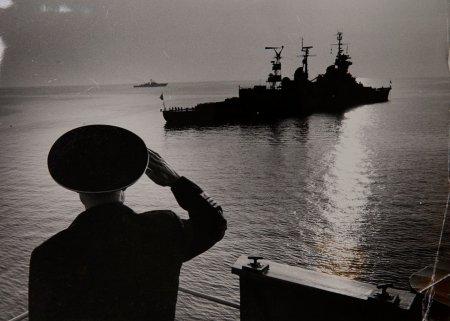 Минобороны показало уникальные фотографии ко Дню Военно-морского флота