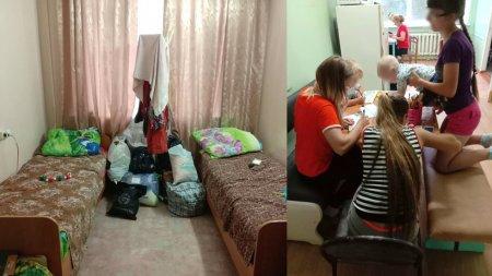 Пострадавшие от паводка в Приамурье рассказали о жизни во временных пунктах