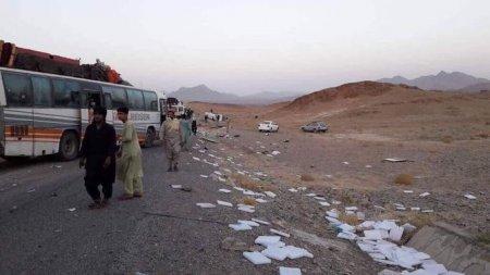 В Афганистане при подрыве автобуса погибло почти 30 человек
