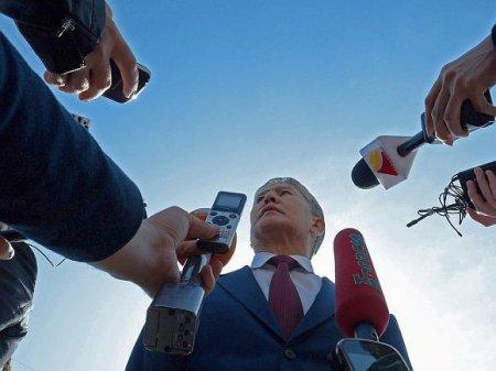 Совбез Киргизии обсудил ситуацию вокруг Атамбаева на закрытом совещании