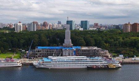 Реставрация Северного речного вокзала в Москве завершится в 2020 году