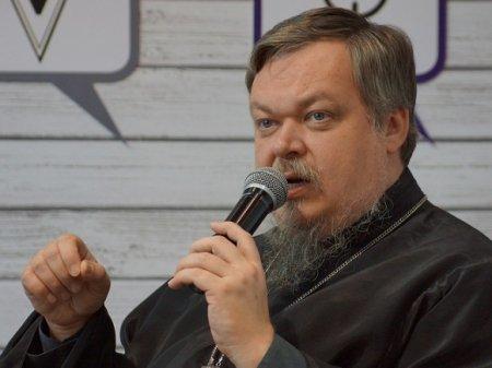 Протоиерей Чаплин призвал православных на борьбу с супрематическим крестом Покраса Лампаса