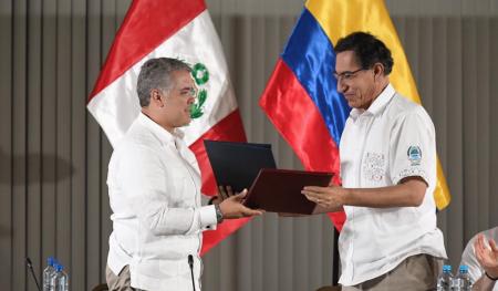 Лидеры Колумбии и Перу проведут встречу по спасению лесов Амазонии от пожаров