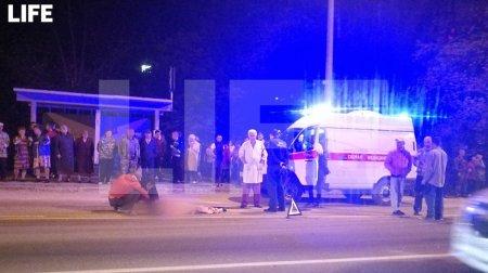 Во Владимирской области водитель BMW насмерть сбил двух подростков — видео