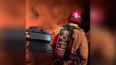СМИ: Россиянка могла погибнуть при пожаре на судне в Калифорнии