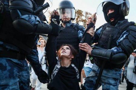 Участникам московских митингов дадут отопление только в декабре