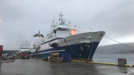При пожаре на российском судне в Норвегии пострадало 12 человек