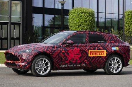 Aston Martin заявил, что кроссовер DBX будет оснащен двигателем V-8