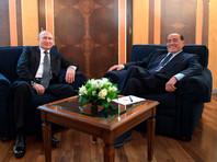 Давний друг Путина Берлускони опять прилетел к нему в Сочи на день рождения