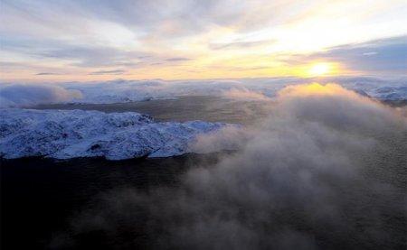 Земля на грани катастрофы: Вечная мерзлота тает, выбрасывая гигантские фонтаны метана