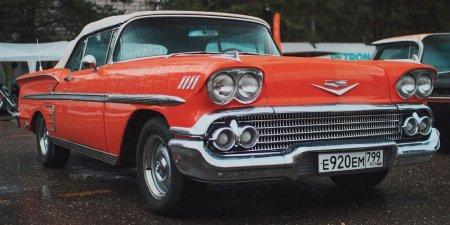 Любимое авто Элвиса Пресли покажут на ретровыставке в Парке Горького