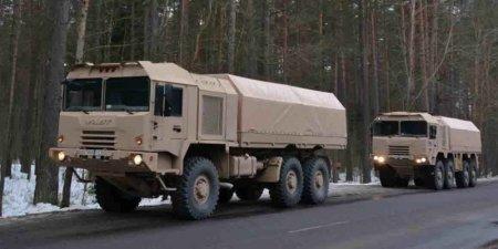 Белорусские военные грузовики в поисках новых рынков