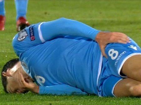 «Карлики» из Сан-Марино не позволили Дзюбе стать лучшим бомбардиром отбора Евро-2020