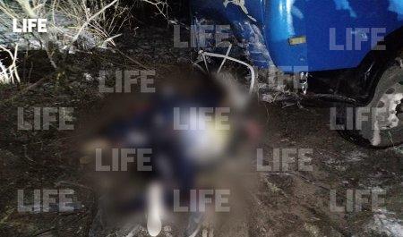 Лайф публикует фото с места ДТП с пятью погибшими в Осетии