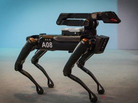 Робопёс Boston Dynamics Spot прослужил три месяца в полиции
