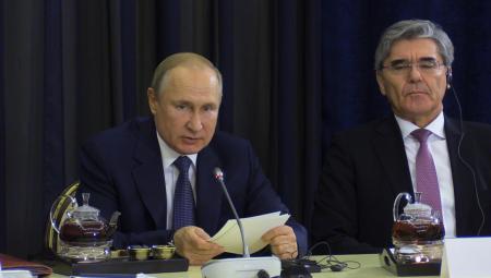 """Путин: Ввод """"Северного потока –2"""" не означает прекращения транзита через Украину"""