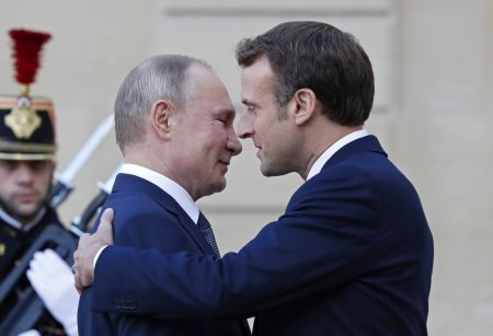 """В Париже начались двусторонние встречи лидеров """"нормандской четвёрки"""""""