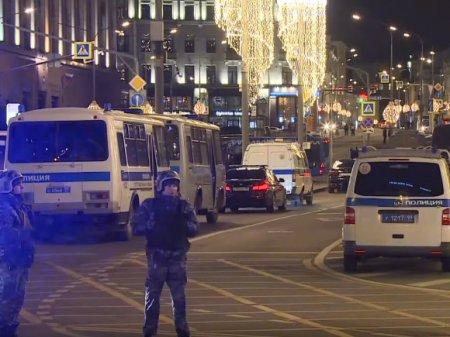 СМИ: Стрелка с Лубянки связали с НОД (фото)