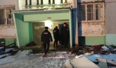В Сети появилось видео с места взрыва газа в жилом доме в Твери