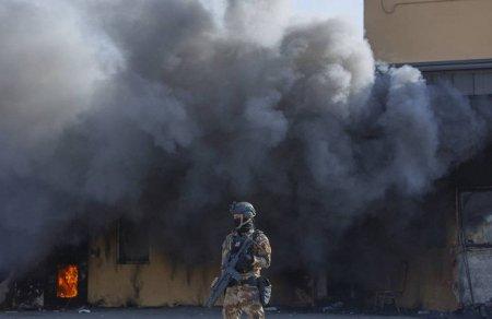 В Багдаде в районе посольства США взорвалась ракета