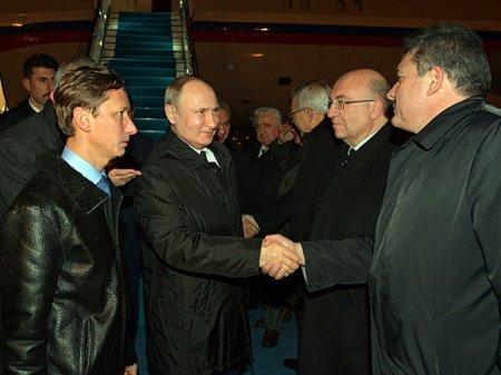 Президент России встретился с турецким лидером в Стамбуле
