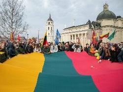 В столице Литвы состоялось традиционное шествие 16 февраля